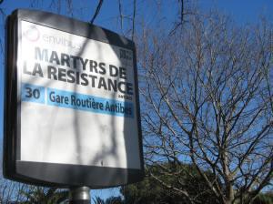 Avenue Martyrs de la Resistance