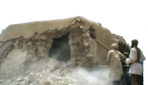 Destruction in Mali