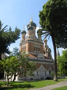 Die Russiese Katedraal, Nice
