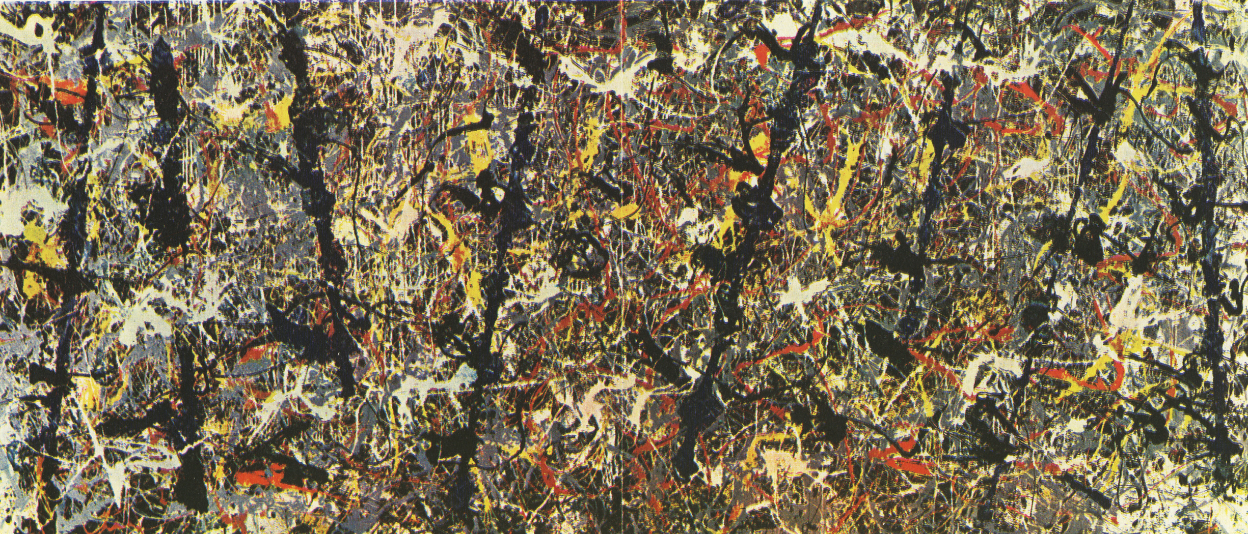 an essay on jackson pollack and blue poles Who the #$&% is jackson pollock is a 2006 documentary following a woman named teri horton, a 73-year-old former long-haul truck driver from california, who purchased.