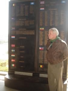 Die Suid-Afrikaanse gendenkplaat