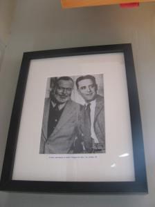 Fitzgerald en Hemingway