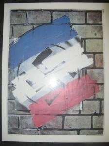 Die Tricoleur se triomf oor die swastika - 'n poster
