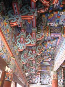 Stutbalke, Bulguksa-tempel.