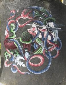 Tanch'ong-skildery op teel, Cheongjui-tempel