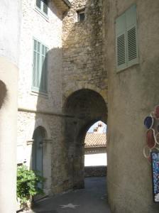 Saraseense Poort - toe onder geboue