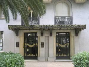 Palais Marie - die Ingang
