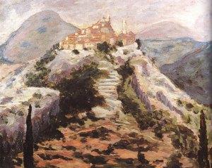 Skildery van Eze deur Winston Churchill