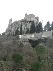 Ruines van 'n Romeinse fort