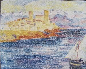 Henri-Edmund Cross -  Les Remparts, Antibes 1905