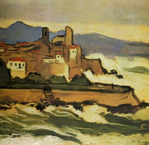 Camoin  -  Mer demonte a Antibes 1920
