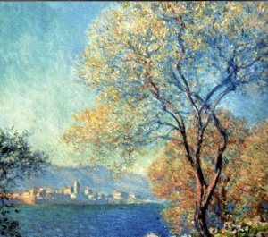 Claude Monet - Vue d'Antibes de la Salis 1888