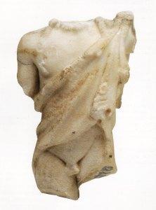 Dionysus / Bacchus beeld uit die Valmasque-woud