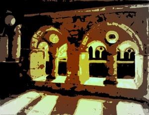 Strak versier, die klooster