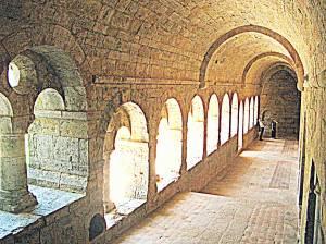 Van die oudste kloosters in Europa