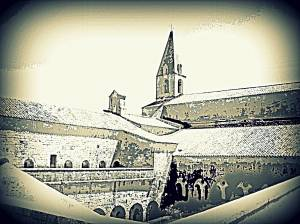 Uitsig bo die kloosters (noord-wes)