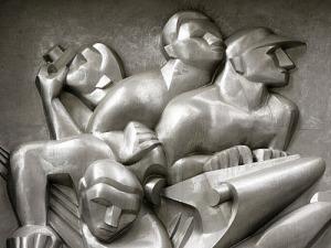 Deco beeld - Rckefeller Sentrum, New York, 1932