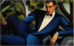 De Lempicka: Potret van Marquis D'offitto, 1925 - 'n Deco-meesterstuk