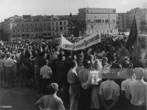 Skare na byvryding, 29ste Aug, 1944
