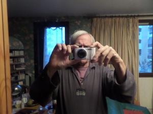 Samsung-klient en sy kamera