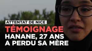 """Aanval in Nice: Getuienis: Hanane , 27, hat haar moeder verloor"""