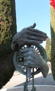 Monument vir Hakies en die Pied-Noirs, Rabiac-begrafplaas
